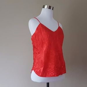 Tops - Chemise Asian Red Small / Medium Adjustable Straps